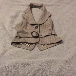 Forever 21 tweed vest small